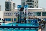 Pasaulio šuolių į vandenį taurės etape Rio de Žaneire lietuvės neiškovojo kelialapių į olimpines žaidynes