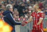 """A.Robbenas mėgaujasi J.Heynckeso buvimu """"Bayern"""" komandoje"""