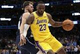 """Dalase – """"Lakers"""" ir """"Mavericks"""" žvaigždžių spindesys bei pratęsimas"""
