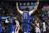 """Rezultatyviai žaidęs L.Dončičius gražiu tritaškiu įtvirtino """"Mavericks"""" pergalę"""