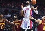 Kh.Middletonas: Drummondas nemėgsta kontaktinio krepšinio