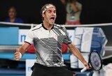 """Maestro įsibėgėja: R.Federeris iš """"Australian Open"""" turnyro eliminavo penktąją pasaulio raketę"""