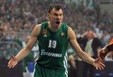 Tarp Graikijos lygos geriausiųjų - Š.Jasikevičius