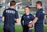 Estijos rinktinėje darbą pradėjo naujas treneris
