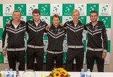 Daviso taurė: Lietuvos ir Norvegijos tenisininkai kausis Šiaulių arenoje