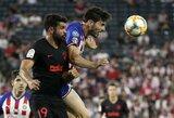 """Tarptautinė čempionų taurė: karštoje ir raudonomis kortelėmis pažymėtoje kovoje """"Atletico"""" po baudinių serijos nugalėjo """"Chivas"""""""
