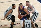 """Nesustabdomam N.Jokičiui nepavyko eliminuoti """"Spurs"""": prireiks septintųjų rungtynių"""