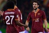 """""""Roma"""" paskutinėmis minutėmis nukovė be keitimų žaidusį """"Torino"""""""