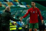 C.Ronaldo nukentėjo nuo vagių: nusikaltėlis pateko pro atdaras garažo duris