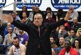 M.Kalniečio komanda Tel Avive kovos be vyriausiojo trenerio