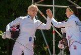 Lietuvės nuostabiai pradėjo finalinį pasaulio šiuolaikinės penkiakovės taurės etapą