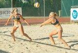 U.Andriukaitytė ir I.Zobnina Europos jaunimo paplūdimio tinklinio čempionate – penktos
