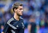 """Vos prieš keturis mėnesius naują sutartį pasirašęs gynėjas D.Rugani svarsto galimybę palikti """"Juventus"""""""