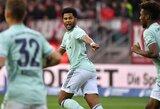 """S.Gnabry apie """"Bayern"""" tikslus: """"Sezonas bus sėkmingas tik tuomet, jeigu laimėsime Vokietijos lygą"""""""