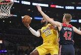 """""""Lakers"""" laimėjo dešimtąjį kartą iš eilės"""