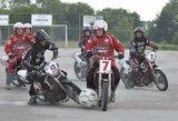 Tarptautiniame motobolo turnyre Skuode kretingiškiai iškovojo antrą vietą