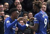 """""""Chelsea"""" susitvarkė su """"Brighton"""", """"Man United"""" nepaliko vilčių autsaideriams, """"Leicester City"""" patyrė pralaimėjimą"""