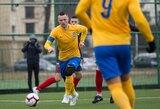 """Lietuvos futbolo A lyga: """"Atlantas"""" ir """"Kauno Žalgiris"""" susitikimą baigė lygiosiomis"""