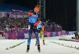Neįtikėtinose vyrų biatlono estafetės varžybose – šeimininkų triumfas