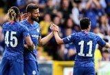 """Draugiškose rungtynėse – triuškinama """"Chelsea"""" pergalė"""