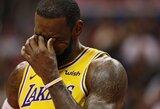 """L.Jamesas: """"Lakers"""" yra įpratusi prie pralaimėjimų"""""""