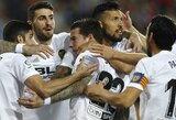 """""""Valencia"""" nepaliko šansų """"Levante"""" futbolininkams"""