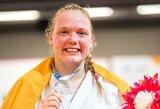 J.Kmieliauskaitė Vokietijoje laimėjo bronzą, S.Pakenytė ir S.Jablonskytė kovėsi Kroatijoje