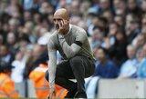 """P.Guardiola atskleidė, kad """"Manchester City"""" neturėjo pakankamai pinigų naujam vidurio gynėjui"""