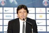 PSG direktorius Leonardo tiesioginio eterio metu pasipiršo savo mylimajai