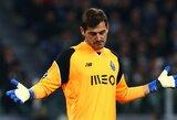 """Legendinis """"Real"""" vartininkas I.Casillasas karjerą nori užbaigti Portugalijoje"""