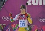Europos biatlono čempionato persekiojimo lenktynėse T.Kaukėnas aplenkė K.Dombrovskį