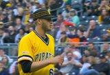 """Ikisezoninėse rungtynėse žibėjęs D.Neverauskas """"Pirates"""" vadovams sukėlė galvos skausmą"""