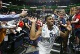 """""""Jazz"""" trečią kartą iš eilės sutriuškino NBA čempionus"""