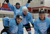 A.Lukašenkos ledo ritulio turnyre – žinomi Lietuvos žaidėjai ir lygiosios su Vokietija