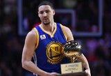 K.Thompsonas NBA tritaškių konkurse pranoko S.Curry