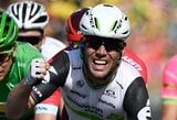 """M.Cavendishas laimėjo dar vieną """"Tour de France"""" etapą ir visų laikų įskaitoje pakilo į antrą vietą"""