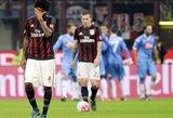 """""""Napoli"""" pažemino """"Milan"""" klubą """"San Siro"""" stadione"""
