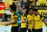 """Du P.Alcacerio pelnyti įvarčiai per pridėtą laiką padovanojo """"Borussia"""" ne tik pergalę, bet ir čempionato lyderio statusą"""