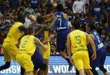 FIBA atsakas į masines muštynes: nubaudė 13 krepšininkų, trenerius, federacijas ir teisėjus
