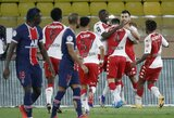 """Prancūzijoje – K.Mbappe dublis, du neįskaityti PSG įvarčiai ir dviejų įvarčių deficitą panaikinusio """"Monaco"""" dramatiška pergalė"""