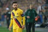 """L.Messi: """"Nemėgstu būti keičiamas, verčiau pradėčiau rungtynes ant atsarginių suolo"""""""