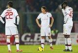 """M.Balotelli įvarčių """"Milan"""" pergalei nepakako"""
