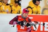 Pasaulio biatlono taurės sezonas baigėsi latvio stebuklu