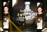 NHL čempionų pagerbimą apkartino nesėkmė sezono atidarymo rungtynėse