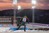 Europos biatlono čempionate N.Kočergina pateko į persekiojimo lenktynes