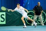 Vyrų teniso turnyro Turkijoje kvalifikacijoje – antra T.Babelio pergalė