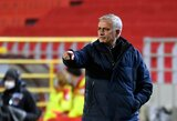 """J.Mourinho po pralaimėjimo Belgijoje: """"Varžovai gavo tai, ko nusipelnė"""""""