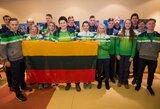 Lietuvos jaunimo rinktinė išlydėta į Turkiją