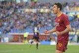 """Apie Čempionų lygą vis dar svajojanti """"Roma"""" pakilo į ketvirtą vietą Italijoje"""