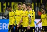 """Vokietija: trijų įvarčių deficitą panaikinusi """"Borussia"""" išsigelbėjo rungtynėse su """"Paderborn"""""""